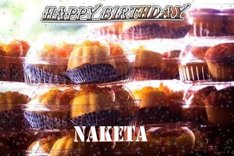 Happy Birthday Wishes for Naketa