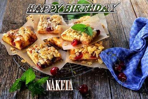 Happy Birthday Cake for Naketa