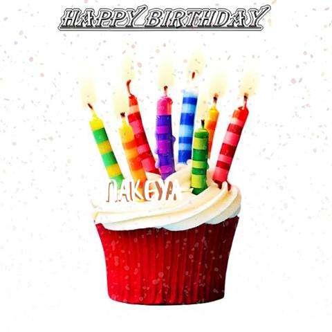 Birthday Wishes with Images of Nakeya