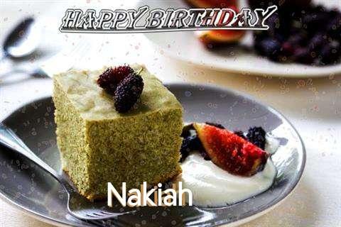 Happy Birthday Nakiah Cake Image