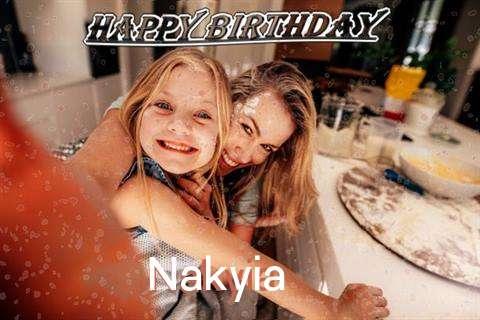 Happy Birthday Nakyia