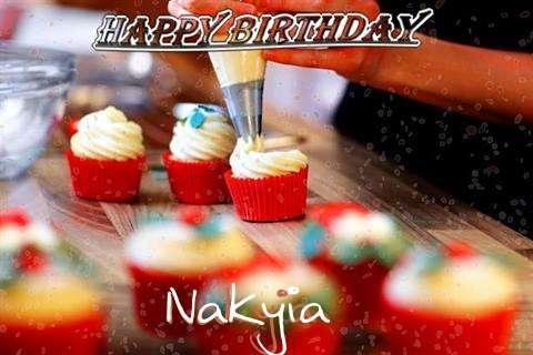 Happy Birthday Nakyia Cake Image