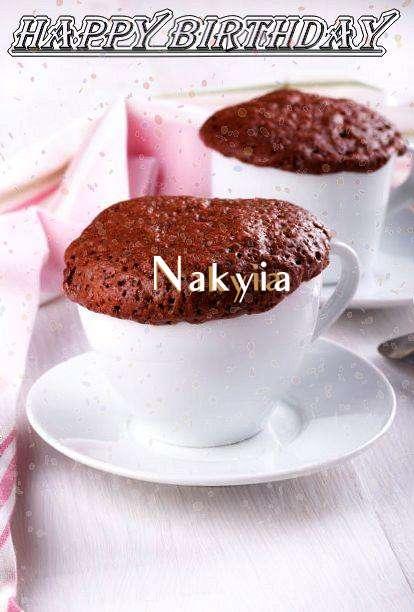 Happy Birthday Wishes for Nakyia