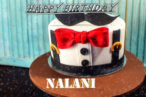 Happy Birthday Cake for Nalani