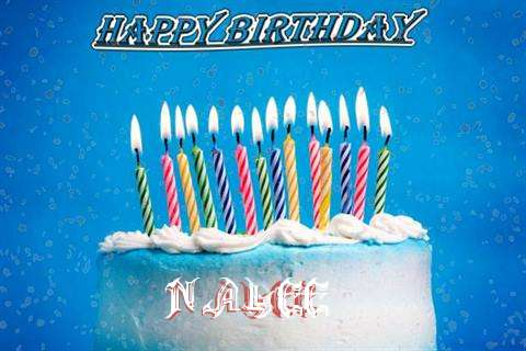 Happy Birthday Cake for Nalee