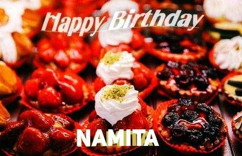 Happy Birthday Cake for Namita