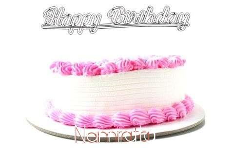 Happy Birthday Wishes for Namrata