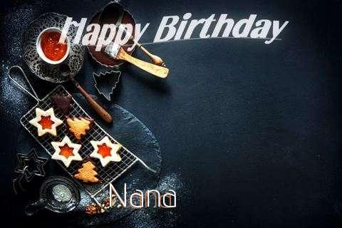 Happy Birthday Nana Cake Image