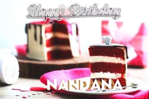 Happy Birthday Wishes for Nandana