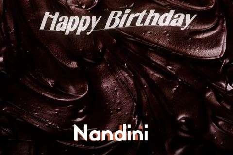 Happy Birthday Nandini Cake Image