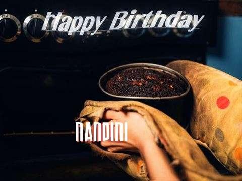 Happy Birthday Cake for Nandini