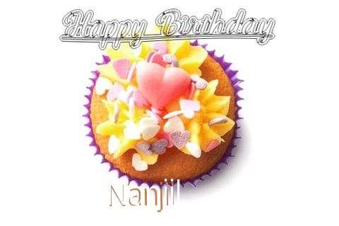Happy Birthday Nanjil Cake Image