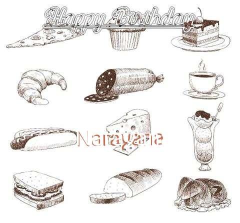 Happy Birthday Cake for Narayana