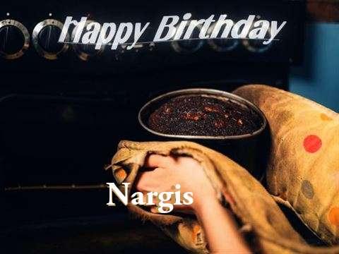 Happy Birthday Cake for Nargis