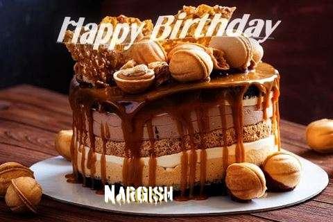 Happy Birthday Wishes for Nargish