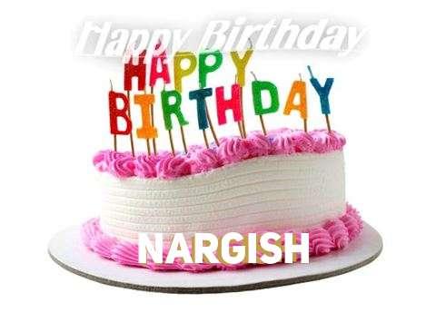 Happy Birthday Cake for Nargish