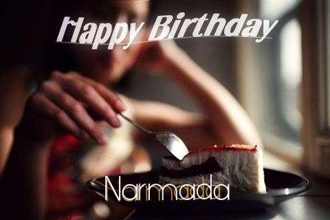 Happy Birthday Wishes for Narmada