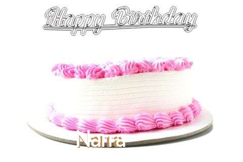 Happy Birthday Wishes for Narra