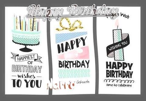 Happy Birthday to You Narra