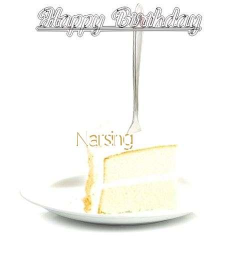 Happy Birthday Wishes for Narsing