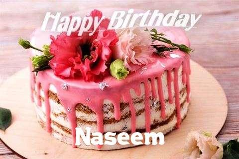 Happy Birthday Cake for Naseem