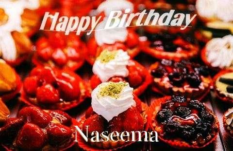 Happy Birthday Cake for Naseema