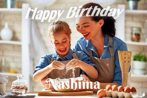 Birthday Wishes with Images of Nashima