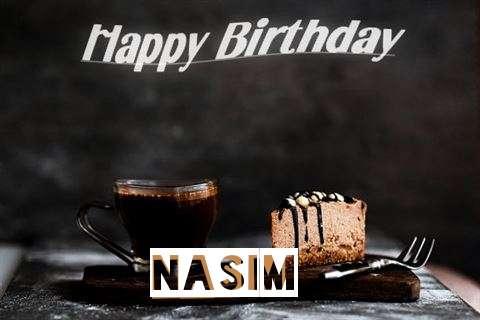 Happy Birthday Wishes for Nasim