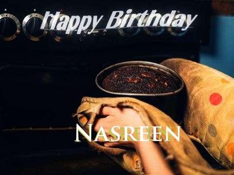 Happy Birthday Cake for Nasreen