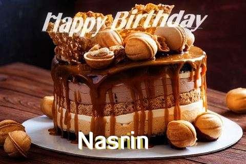 Happy Birthday Wishes for Nasrin