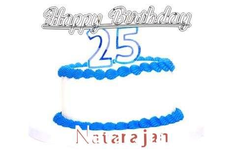 Happy Birthday Natarajan Cake Image