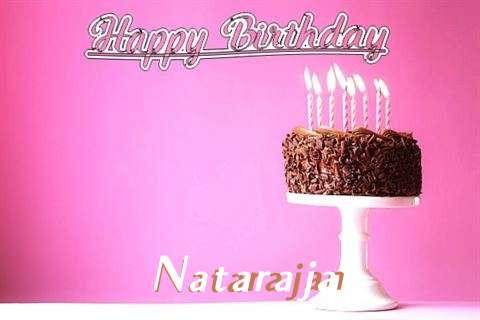 Happy Birthday Cake for Natarajan