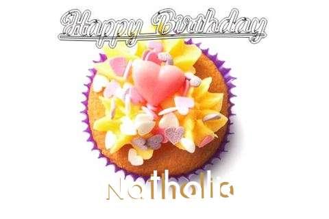 Happy Birthday Nathalia Cake Image