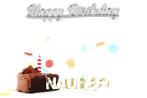 Happy Birthday Cake for Nauheed