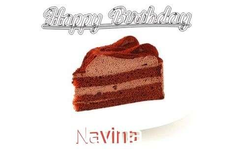 Happy Birthday Wishes for Navina