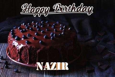 Happy Birthday Cake for Nazir