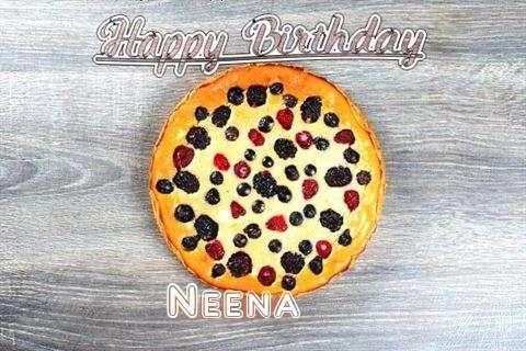 Happy Birthday Cake for Neena