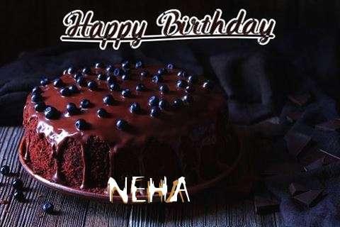 Happy Birthday Cake for Neha