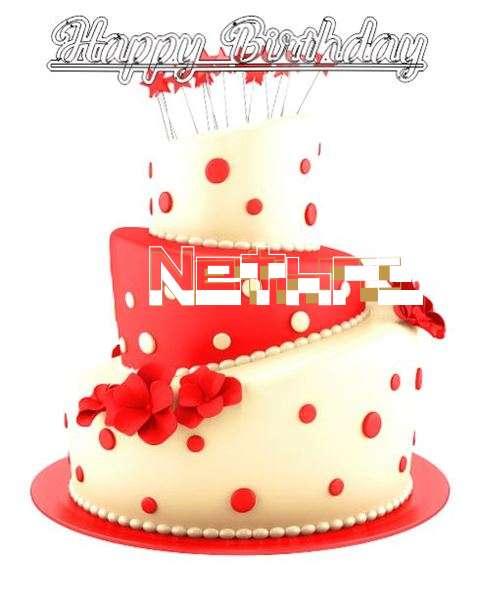 Happy Birthday Wishes for Nethra