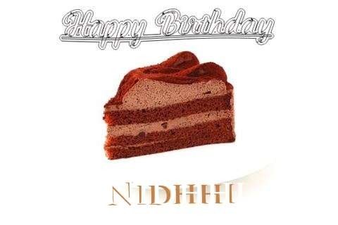 Happy Birthday Wishes for Nidhhi