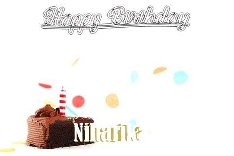 Happy Birthday Cake for Niharika