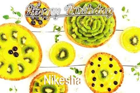 Happy Birthday Nikesha Cake Image
