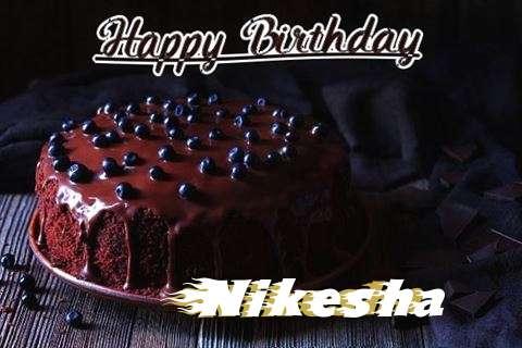 Happy Birthday Cake for Nikesha