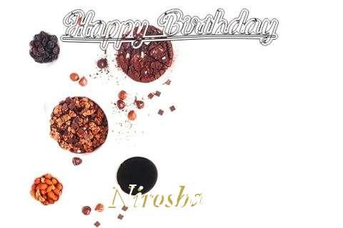 Happy Birthday Wishes for Nirosha