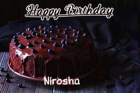 Happy Birthday Cake for Nirosha