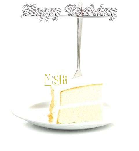 Happy Birthday Wishes for Nishi