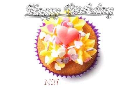 Happy Birthday Niti Cake Image