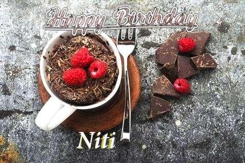 Happy Birthday Wishes for Niti