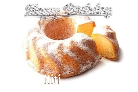Happy Birthday to You Niti