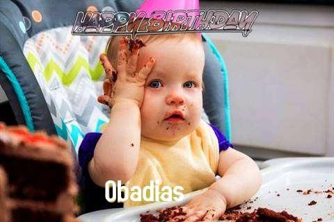 Happy Birthday Wishes for Obadias